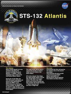 STS-132 Atlantis Mission poster