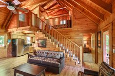 Trail's End - Rustic Luxury log Cabin just completely renovated and readied for your Smoky Mountain Getaway.