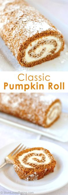 Cinnamon and cloves add the spice to this pumpkin sheet cake, topped with cream…