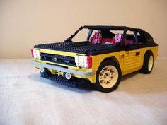 Opel Kadett C 1978: A LEGO® creation by Netanel Cohen : MOCpages.com
