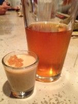 The Pumpkin Bomb: drop a shot of Jameson and a shot of Bailey's into a glass of Cottonwood Pumpkin Beer. I hear it tastes just like pumpkin pie. Jameson Cocktails, Pumpkin Beer, Baileys, Non Alcoholic, Fall Pumpkins, Wine Drinks, Wine Tasting, Wines, Stuffed Mushrooms