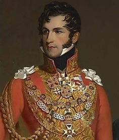 Napoleon himself called him 'the most beautiful prince of Europe' long before he became the first King of Belgium. Leopold 1 was a BAMF, and his love life reads like a (sad) romance novel. Papua Nova Guiné, Trinidad E Tobago, Franz Josef I, King Leopold, Pose, Portraits From Photos, Conquistador, Herzog, Santa Lucia