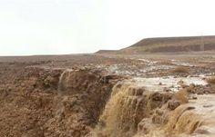 اخبار اليمن العربي: بالصور.. هطول أمطار غزيرة وتدفق للسيول في وادي حضرموت