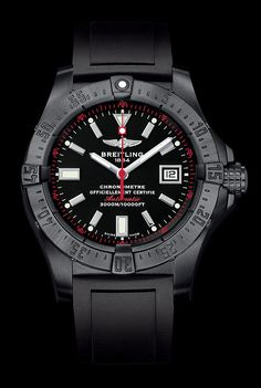 Breitling Avenger Seawolf Blacksteel is a limited edition of 1,000