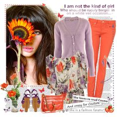 In love with ...floral, created by annabu.polyvore.com