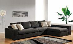 Decoración con sofás modulares