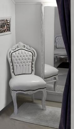 Fitting room, chairs like this are a must have!