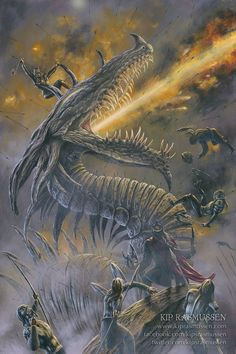 Glaurung at the Fifth Battle