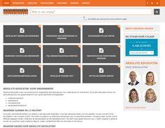 Eind 2014 lanceerden wij de website voor Absolute Advocaten uit Huissen. www.absoluteadvocaten.nl