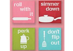 cute kitchen canvases love this little idea for the kitchen. You can design your own canvas at poptex.co.za
