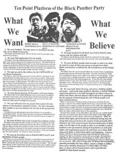 The Black Panther Party was founded in 1966. Known for their notorious radicalism in the 1970s compared to peaceful ways like Martin Luther King.