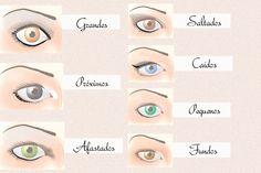 maquiagem para olhos grandes - Bing Imagens