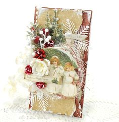 Christmas tree farm card with the new Night before Christmas paper collection