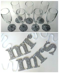 Win these Mr and Mrs Signs in the Sparkly Maven Bride Giveaway #mbsigncontest #mrandmrs