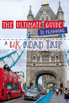 From the bustling city of London to the historic town of Stratford-upon-Avon, the UK has many places to see and things to do and driving across the country is the best way to do it! There are so many things you need to take into account when you're planning a road trip adventure. It is always better to be prepared so you avoid any unexpected surprises. This way you can just sit back, relax, and enjoy the journey. #UK #Roadtrip