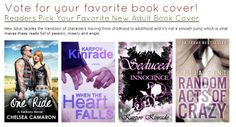 Readers check out these #newadult novels and pick your favorite book cover.