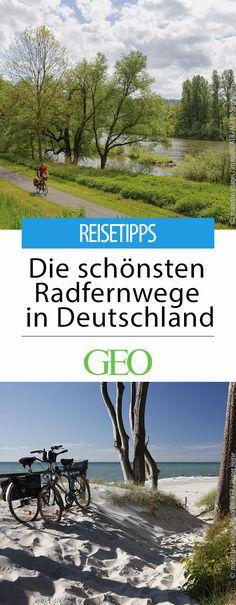 Radfernwege in Deutschland: Wer die Vielfalt und Schönheit Deutschlands erkunden will, sollte sich aufs Rad schwingen. Am besten für mehrere Tage. Wir stellen zehn der schönsten Fahrradtouren kreuz und quer durch die Republik vor