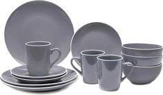 SERWIS OBIADOWY SAVONA  Piękny i nowoczesny zestaw obiadowy dla 4 osób, wykonany z wysokogatunkowej ceramiki idealny do domowego użytku oraz jako prezent na różne okazje. Można myć w zmywarce.  W skład zestawu wchodzi:    4 talerze obiadowe, średnica 27 cm  4 miski na zupę, średnica 14 cm,  4 talerze deserowe, średnica 20 cm  4 kubki, pojemność 336 ml     Zestaw występuje wtrzech subtelnych kolorach. Dzięki klasycznej stylistyce doskonale będzie pasował do każdego wnętrza. Mugs, Tableware, Kitchen, Home, Dinnerware, Cooking, Tumblers, Tablewares, Kitchens