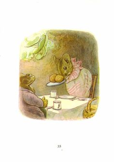 Beatrix Potter, Tale of Mrs. Tittlemouse from The Vintage Read...♔..