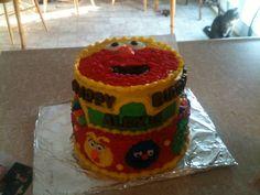 Sesame Street cake.
