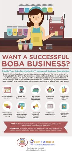 Boba Tea Direct offers hands on bubble tea / boba tea training! Let us teach you how to make boba tea drinks,  how to cook the perfect tapioca pearls and how to brew teas.