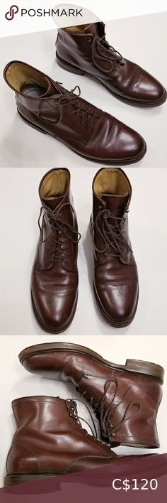 Frye Men's Leather Boots Very good used condition Shows normal signs of wear but still very very nice and has years of life left.. Frye Shoes Boots Black Leather Ankle Boots, Men's Leather, Suede Boots, Combat Boots Shorts, Side Zip Boots, Frye Boots, Oxford Shoes, Dress Shoes, Signs