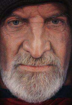 Piazza Spagna - pastel portrait by Spanish artist Rubén Belloso Adorna