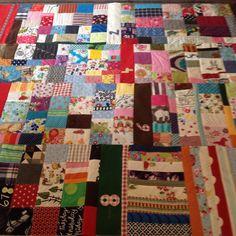 So sieht meine 365-Tage-Decke bis jetzt aus!