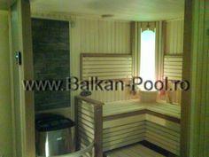 Montaj sauna model Rondium