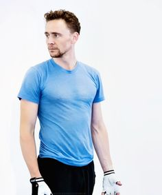 Seeing some upper definition on Mr. Hiddleston and some nipples