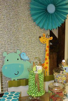 Safari/jungle Baby Shower Party Ideas