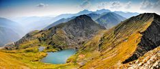 The Goat Lake (in romanian Lacul Capra) is situated at an altitude of 2241 m in Fagaras Mountains.