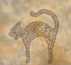 Swirly Cat by Penguin767, via Flickr