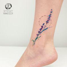 Watercolor Abstract Tattoo by koraykaragozler on DeviantArt Dream Tattoos, Mom Tattoos, Cute Tattoos, Unique Tattoos, Flower Tattoos, Body Art Tattoos, Small Tattoos, Tattoos For Women, Tatoos
