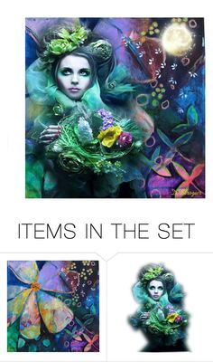 """""""Dreams"""" by deborah-strozier ❤ liked on Polyvore featuring art and modern"""