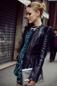 Roberto Cavalli dress and Jacket