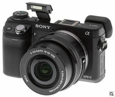 Sony Alpha NEX-6 Compact System Camera - Hands-On Preview