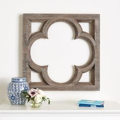Where to buy a Wood Quatrefoil? Discover stylish new interior wall furnishings from Ballard Designs and find the perfect Wood Quatrefoil for your perfect home! Family Room Walls, Ballard Designs, Quatrefoil, Interior Walls, Dining Room Design, Wall Plaques, Vintage Walls, Wall Decals, Wall Art
