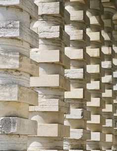 The Royal Saltworks Director's Building Colonnade by Claude Nicolas Ledoux Le Corbusier, Claude Nicolas Ledoux, Victoria Hagan, Gate House, Entry Gates, Beautiful Streets, Modern Architecture, Beams, Natural Stones