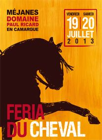 Feria du cheval, 19 et 20 juillet 2013 à Saintes-Maries-de-la-Mer / Bouches-du-Rhone