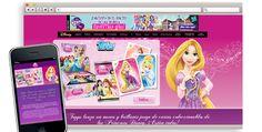 Diseño y promogramación del site responsive Princesas Disney para Disney.#web #PrincesasDisney #Disney