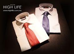 Desafiando lo tradicional con los complementos correctos.   #Corbatas #WearHighLife