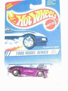 1995 #3 '58 Corvette Coupe Pearl Purple 7 Spokes Malaysia On Base #341 Mint Hot Wheels by Hot Wheels. $5.99. Fun For All Ages! Serious Collectors And Kids Alike!. Great Investment For Any Hot Wheels Collector.. A Perfect Addition To Any Hot Wheels Collection!. Perfect Hot Wheels Diecast for every collector!. Offered By Premium Amazon Seller TheCollectorStop! Check Out Their Massive Inventory & Monthly Promotions!. 1995 #3 '58 Corvette Coupe Pearl Purple 7 Spokes Malaysia On Base ...