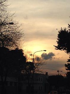 Atardecer en Liniers - CapFed - BsAs - Argetina Celestial, Sunset, Outdoor, Argentina, Sunsets, Outdoors, Outdoor Living, Garden