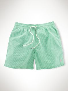 "Hawaiian Seersucker 5"" Boxer - Polo Ralph Lauren Swim Shop - RalphLauren.com"