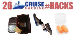 Tips, Tricks & Hacks to prepare you for your Cruise Vacation. Don't forget these essentials and don't pack like a donkey!