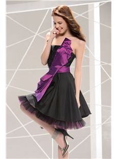 Great A-Line Short Strapless Prom Homecoming Dress