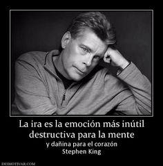 La+ira+es+la+emoción+más+inútil+destructiva+para+la+mente+y+dañina+para+el+corazón+Stephen+King