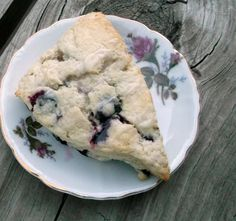 Words Of Deliciousness: Buttermilk-Blueberry Scones with Lemon Glaze