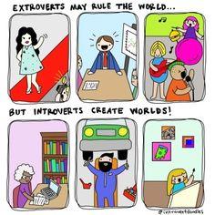 Thinking Introverts Are Weird? Check These 16 Comics Before You Make The Judgement Introvert Personality, Introvert Quotes, Introvert Problems, Infj, Introvert Cat, Personality Types, Mbti, Put Things Into Perspective, Good Mental Health
